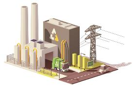 Power Plant Vector Waste to Energy Tele52 @ Dreamstime